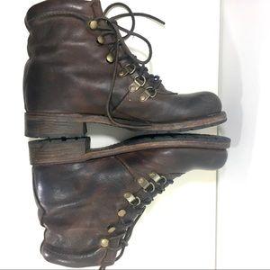 Vintage Shoe Company Minden Boots - Leather